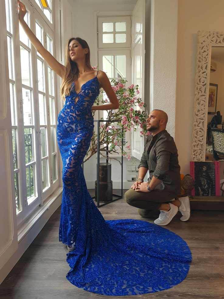 Miss World Spain, pruebas vestido con Alejandro Resta